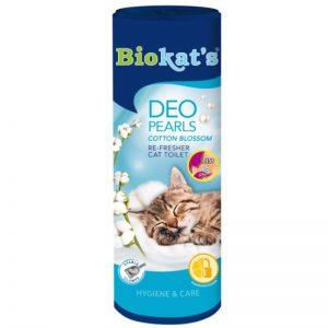 Biokats Deo Pearls Kedi Kumu Parfümü Çiçek Kokulu 700 Gr