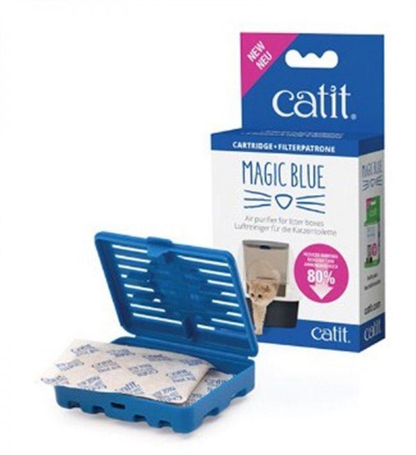 Catit Magıc Blue Tuvalet Kabı Koku Giderici
