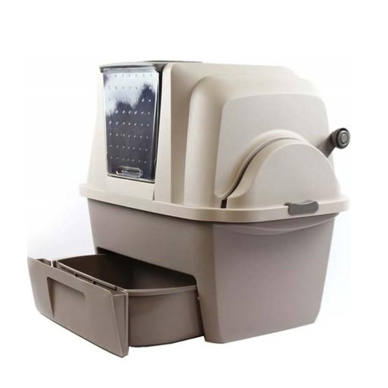 Catit Smart Sift Otomatik Temizlemeli Kedi Tuvalet Kabı 66x48x63h cm