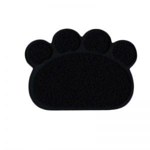 Eurocat Kedi Tuvalet Paspası Siyah 60x45 Cm