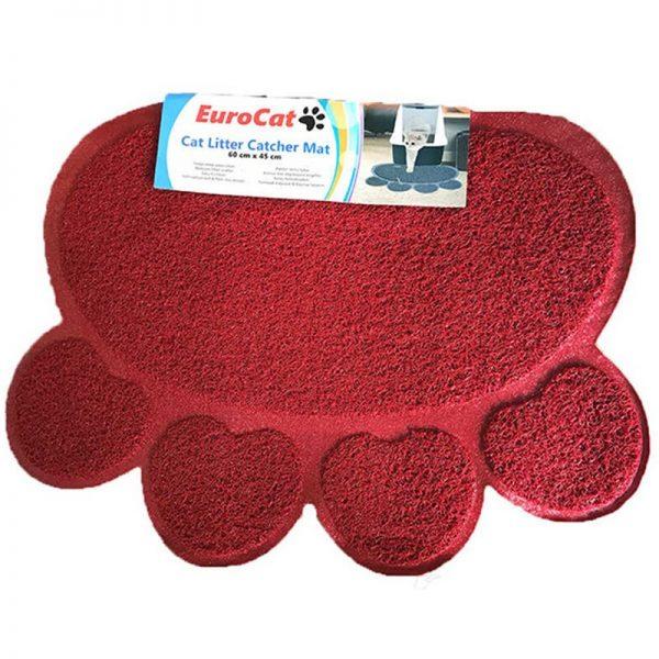Eurocat Kedi Tuvalet Paspası Vişne Çürüğü 60x45 Cm
