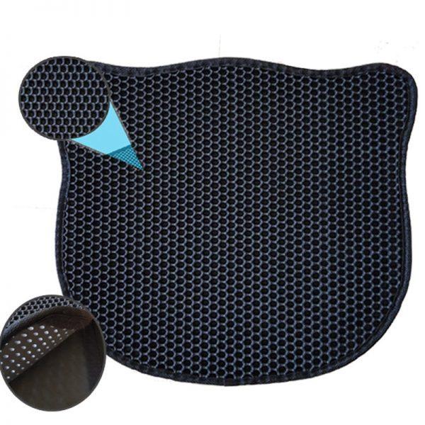 Eurocat Kum Toplayan Elekli Kedi Kumu Paspası Siyah 58x67 Cm