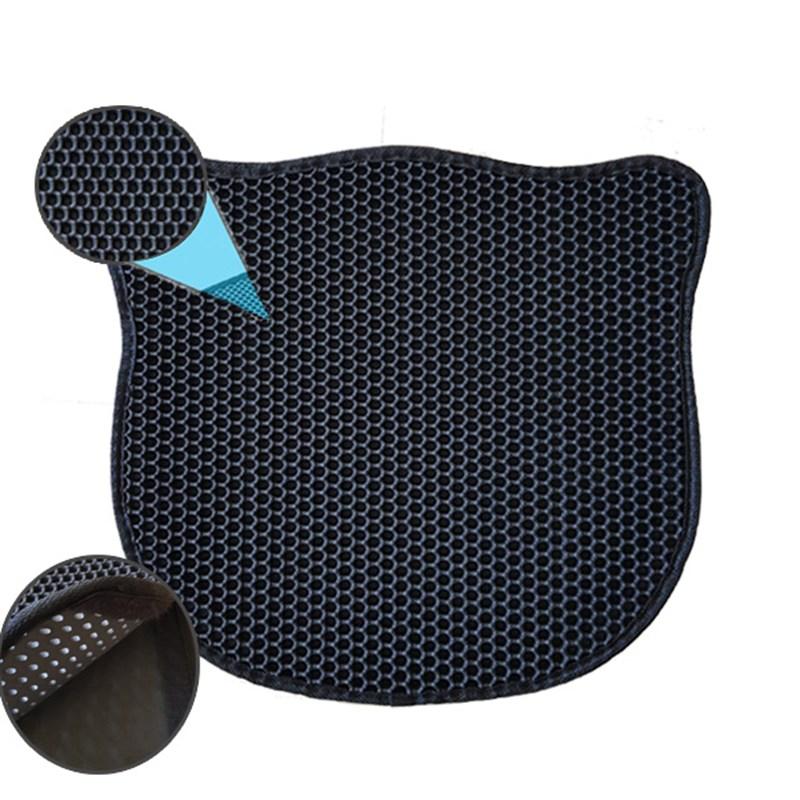 Eurocat Kum Toplayan Elekli Kedi Kumu Paspası Siyah 43x50 Cm