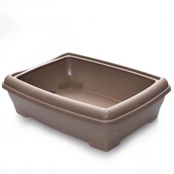 Lepus Relax Kedi Tuvaleti Kahve 495x380x140 mm