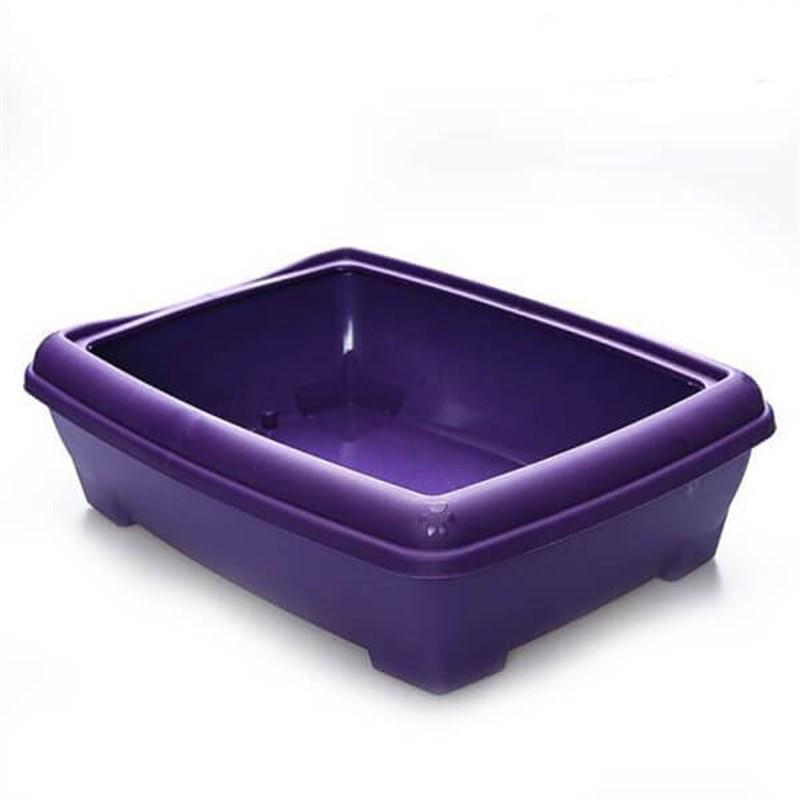Lepus Relax Kedi Tuvaleti Mor 495x380x140 mm