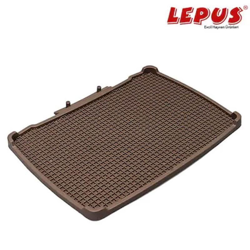 Lepus Relax Kedi Tuvaleti Paspası Kahve 495x380 mm