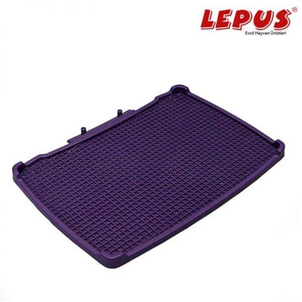 Lepus Relax Kedi Tuvaleti Paspası Mor 495x380 mm