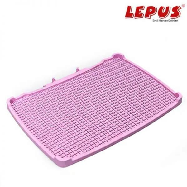Lepus Relax Kedi Tuvaleti Paspası Pembe 495x380 mm