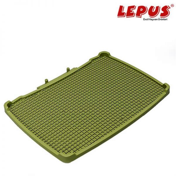 Lepus Relax Kedi Tuvaleti Paspası Yeşil 495x380 mm