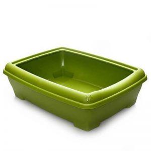 Lepus Relax Kedi Tuvaleti Yeşil 495x380x140 mm
